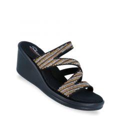 Skechers Rumblers - Mega Flash Women's Sandal - Black Multi