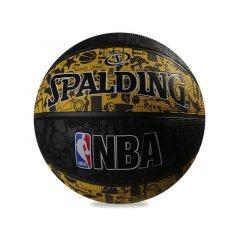 Spalding 2016 NBA Graffiti Rubber Basketball