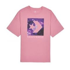 Converse Galaxy Star Chevron Women's Tee - Pink