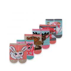 Skechers Low Cut 6 Pack Girls' Socks