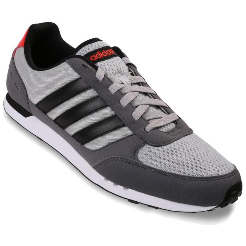 Adidas Baskets Homme Running vintage Neo City racer Grey