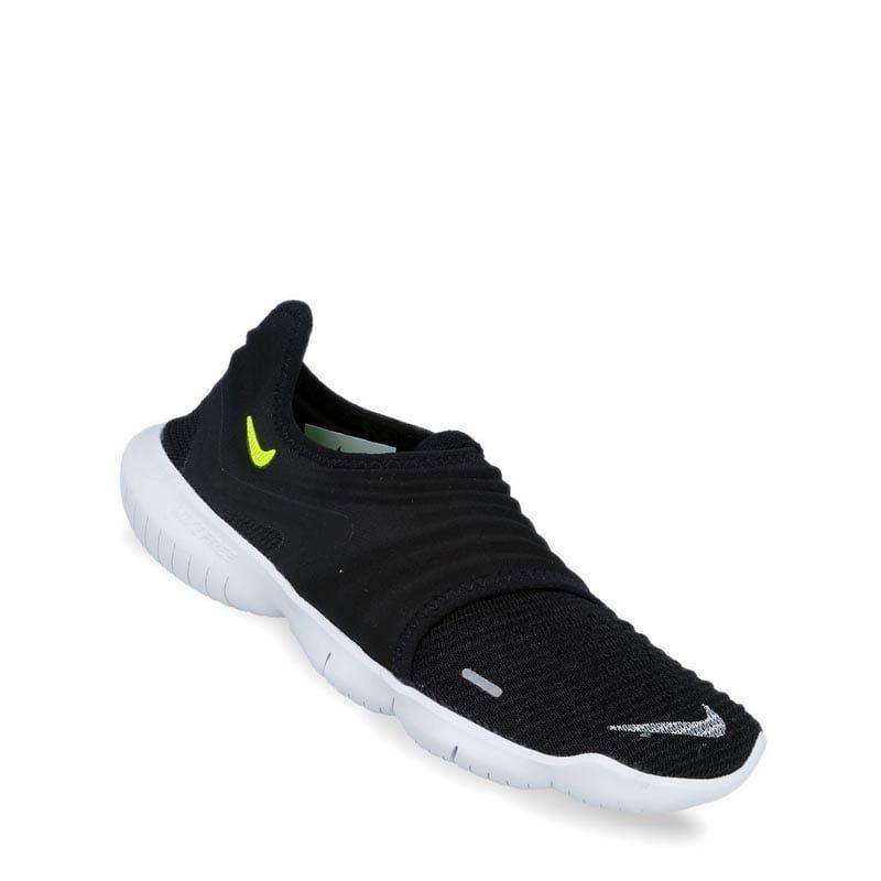 size 40 3ac6c e9f46 Nike Womens Free RN Flyknit 3 Running Shoes - Black