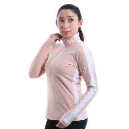 New Balance Womens Transform Half Zip Long Sleeve