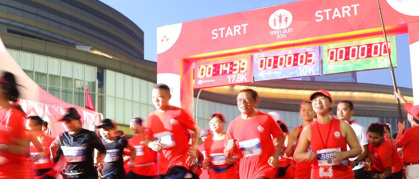 Titan Run: Program Latihan untuk 17,8K