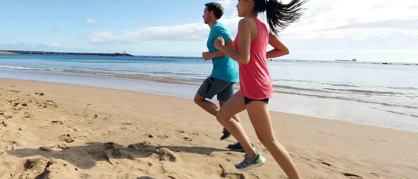 Tips Lari di Pantai