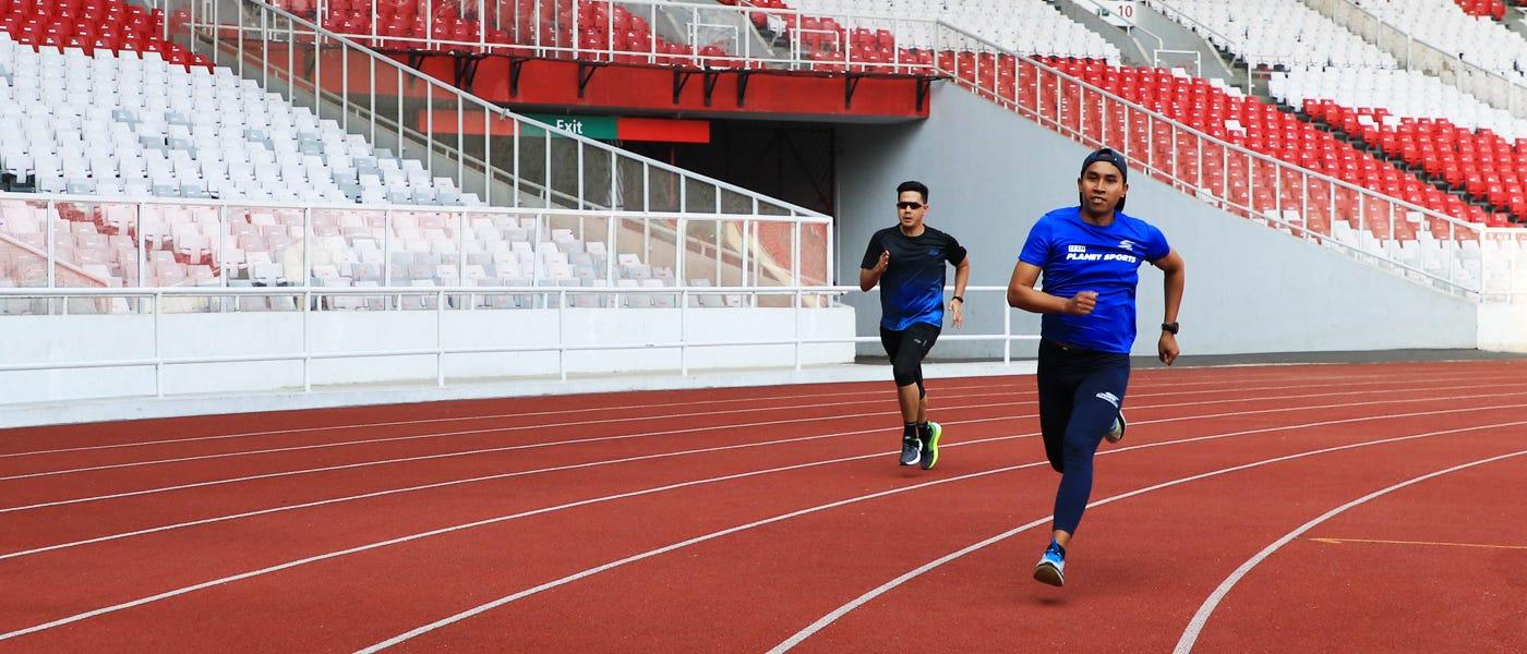5 Aturan Lari di Track Pelari Wajib Tahu