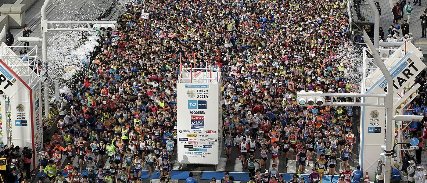 Bersiap untuk Tokyo Marathon 2017