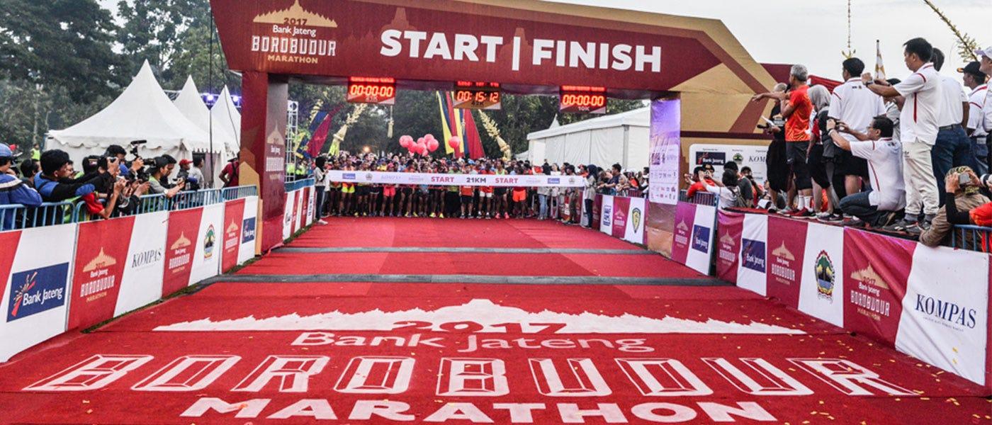 Dari Atlet: Tapering Tepat Jelang Borobudur Marathon 2018
