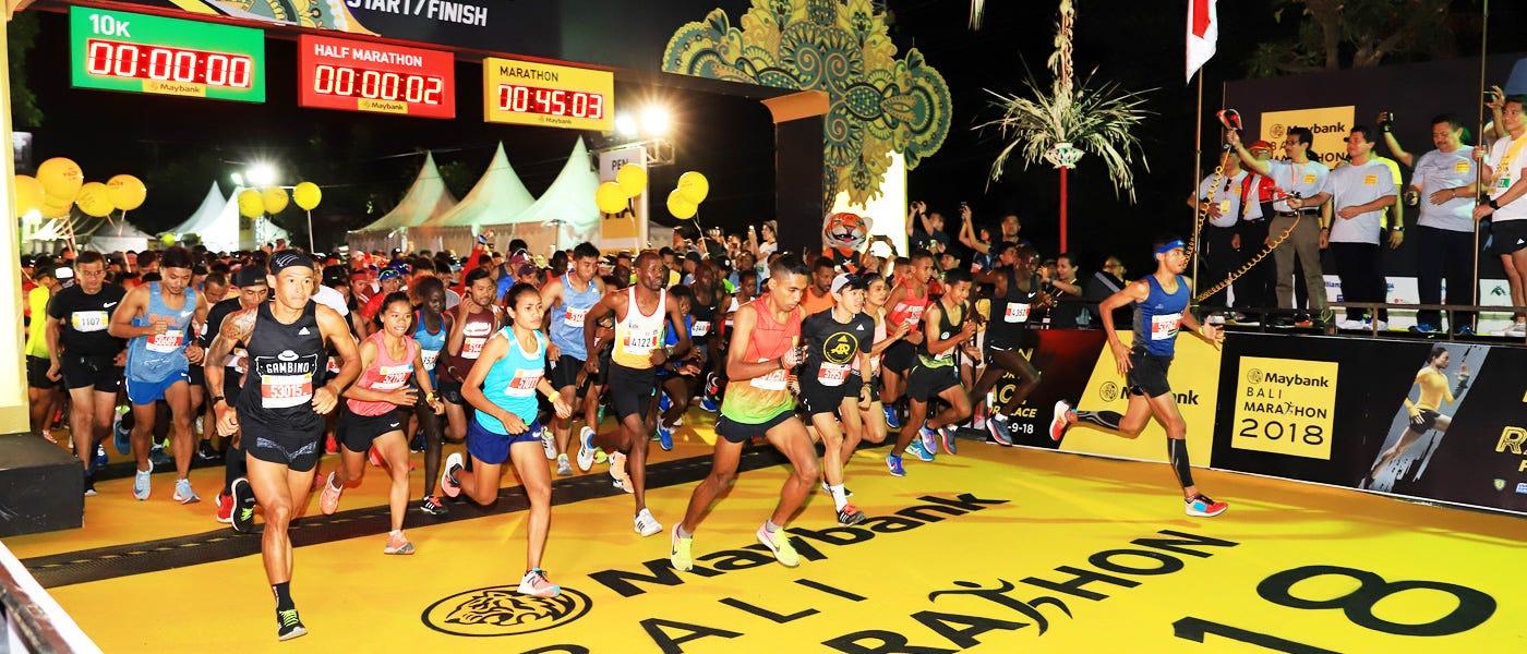 Bali Marathon 2019: Tips Lari di Tanjakan dan Turunan