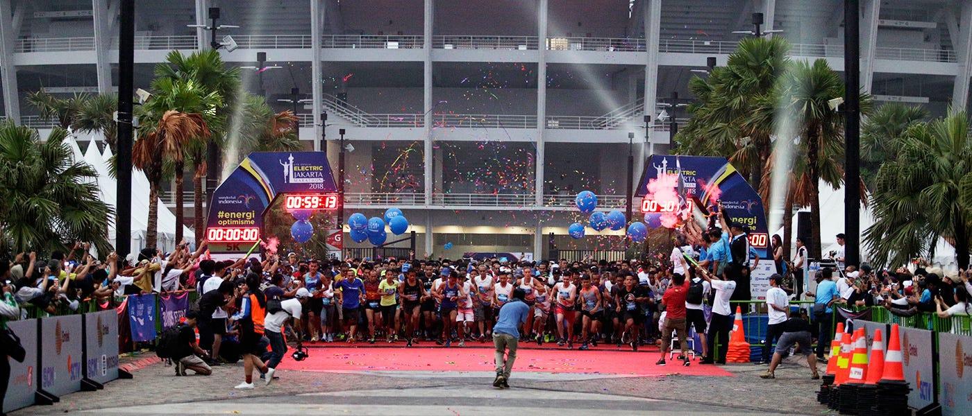 Jadwal Event Lari 2019