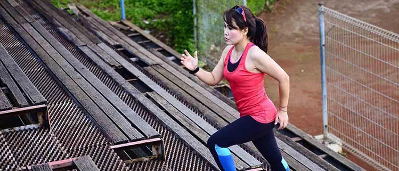 Latihan di Tangga untuk Pelari