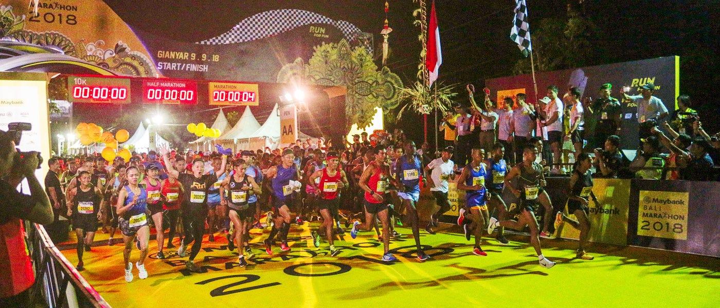 Maraton Pertama: Semua yang Perlu Diketahui