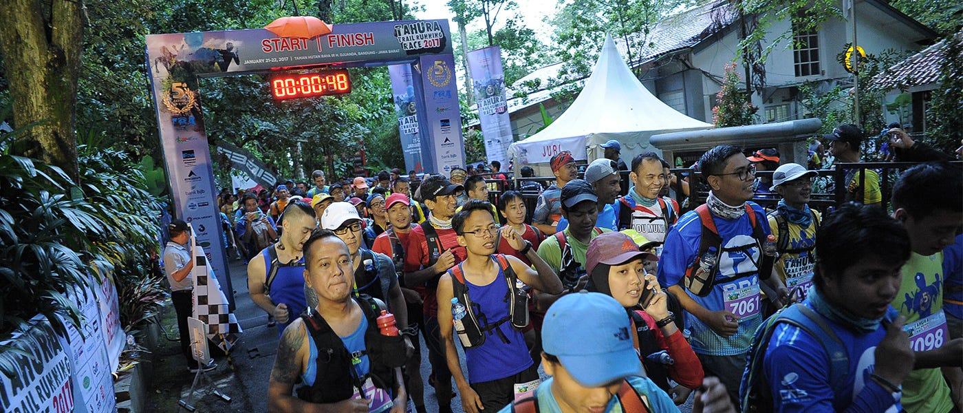 Tahura Trail Running Race: Tips dari Race Director