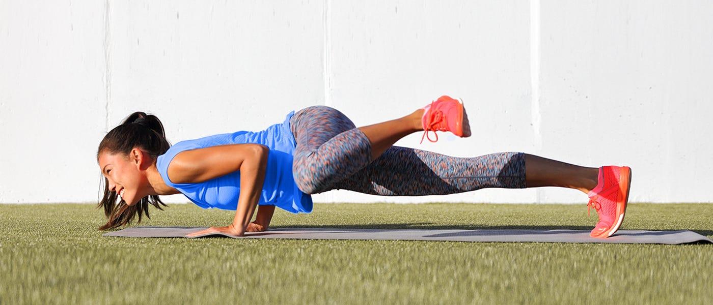 Workout-From-Home Menantang untuk yang Mahir